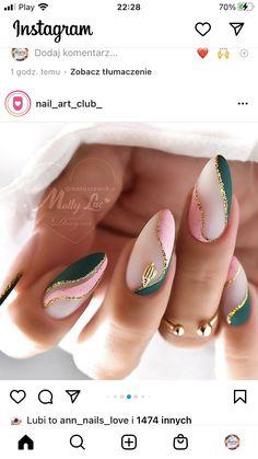 Chic Nails, Glam Nails, Fancy Nails, Stylish Nails, Pink Nails, Perfect Nails, Gorgeous Nails, Pretty Nails, Elegant Nails