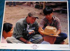 """Robin Williams Signed """"good Morning Vietnam"""" Original 1988 Lobby Card"""