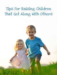Christian parents are going to love these tips for raising children that get along with others. #kindness