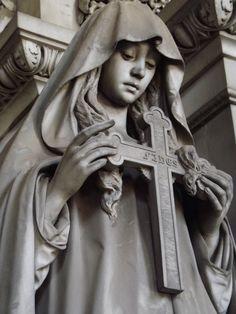 monumental cemetery of Staglieno (Genoa) by MarthaMelancholia on deviantART