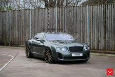 Bentley Continental GT Supersports Struts Its New Shoes