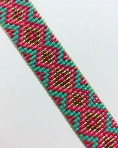 #3 if 3 sweet bracelets headed off to @brighteyez615 for some special little girls ————————————#handmadejewelry #beadwork #southwest #beadedcuff #beads #local #tylertexas #loom #weave #beading #makersgonnamake #beadedbracelets #seedbeads #boho #bohochic #hippie #childrensjewelry