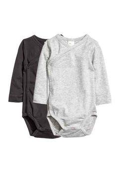 2-pack pima cotton bodysuits