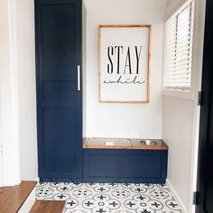 """Floor & Decor on Instagram: """"The Pantone Color of the Year 2020, Classic Blue, is here to stay awhile. Create a neutral canvas like @iveydesigngroup and…"""" Floor Decor, Color Of The Year, Pantone Color, Bathroom Inspiration, Neutral, House Design, Flooring, Canvas, Create"""