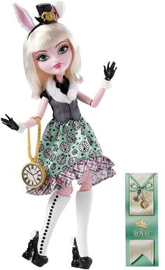Amazon.com: Ever After High Bunny Blanc Doll (Discontinued by manufacturer): Toys & Games