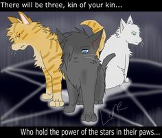 Warrior Cats-Power of Three by Runesoul.deviantart.com on @deviantART