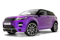Range Rover Evoque-Purple