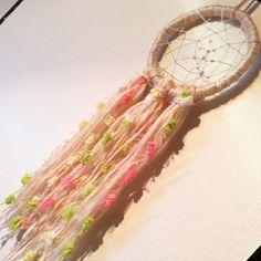 #handmade#dreamcatcher かわいすぎるー◡̈♡