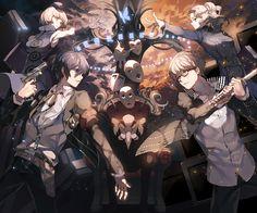 persona Part 1 - - Anime Image Persona Crossover, Persona Five, Shin Megami Tensei Persona, Akira Kurusu, Anime Nerd, Video Game Art, Yandere, Manga Art, Character Design
