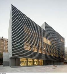 BCQ arquitectura barcelona, Pedro Pegenaute · Tesorería de la Seguridad Social en el Casco Antiguo · Divisare