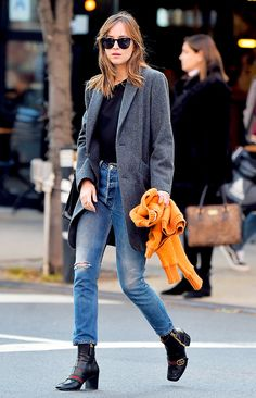 The Fall Boots Your Favorite Celebs Are Already Wearing via @WhoWhatWear