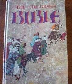 The Children's Bible Golden Press 1976 Printing Fully Illustrated | eBay