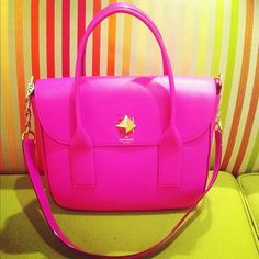how perfect is this kate spade satchel? hot pink is definitely my color! Kate Spade Satchel, Kate Spade Handbags, Kate Spade Purse, Kate Spade Outlet, Vogue, Cute Bags, Mode Style, Purses And Handbags, Pink Handbags