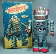 antique toys | vintage space toys antique toy appraisals tin toy robots japan ...