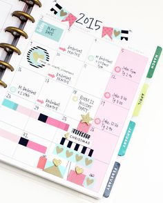 December monthly layout in The Happy Planner™ of mambi Design Team member April Orr | me & my BIG ideas