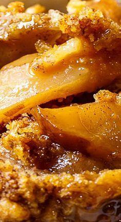 Slow Cooker Apple Cobbler                                                                                                                                                     More