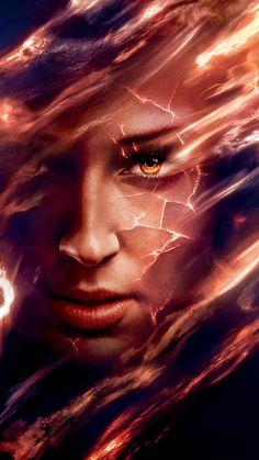 Dark Phoenix (2019) Phone Wallpaper   Moviemania