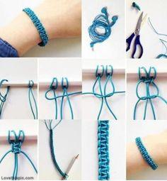 DIY Cool Elastic Bracelet!