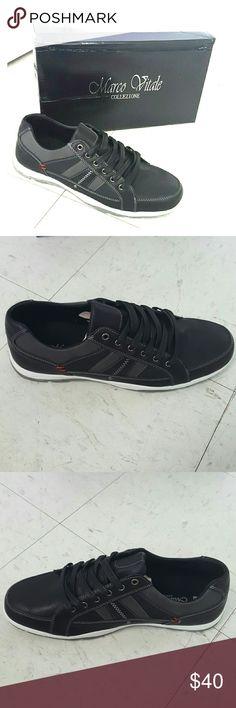 Mens black  casual sneaker size 8.5 Mens black  casual sneaker size 8.5 Marco Vitale Collezione  Shoes Sneakers