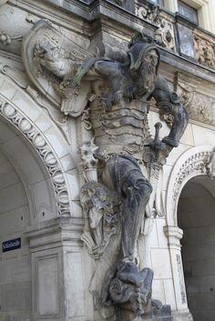 Statue Georgenbau (1530-35) Residenzschloss Dresden