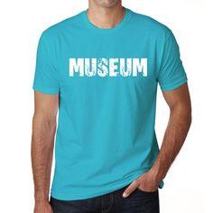 MUSEUM Men's Short Sleeve Rounded Neck T-shirt