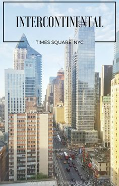 The Intercontinental Times Square is a 4 Star luxury hotel in New York City and it's wonderful! Here's my review on my recent visit.