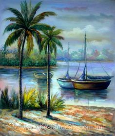 Original Hand Painted landscape oil painting at best price $74.25. FREE SHIPPING to AUS, Canada, NZ, UK & US! bestartdeals.com.au