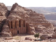 A monastery building in ancient Petra. Photo: Brian Kaylor.