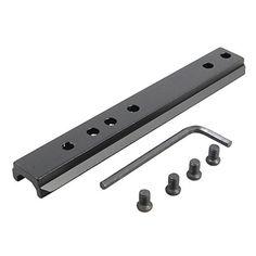 Aluminum 11 Slot 47Inch Key Mod PicatinnyWeaver Rail Scope Mount Screws  Wrench * Click image for more details.