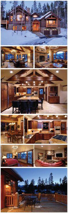 Gorgeous winter house!