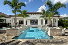 Arabella Home Plan   Sater Design Collection   Luxury House Plans