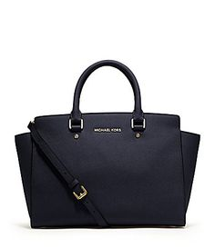 Michael Kors Navy Handbag