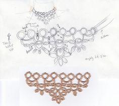 tiara shaped motif