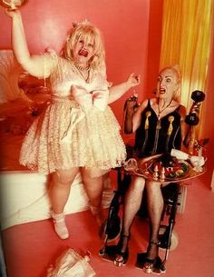 """""""Courtney Love & Madonna"""" by David LaChapelle"""