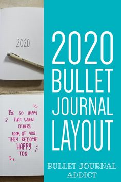 Bullet Journal New Year Set Up - Bullet Journal Layout Ideas - Bullet Journal Collections To Try For 2020 #bulletjournal #bujo #bujo2020 #bujoideas #bujoinspo #bujocollections #bujopageideas