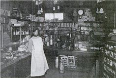 """Mr. Harris's Grocery, Tacoma, WA 1913  """"Here are less than a thousand colored folk, but peculiarly free and sturdy and individual. They have a colored paper which is not colored. They have a branch of our association with a genius for a secretary–a soft-voiced woman, utterly feminine, and yet an untiring leader of men, who may yet make colored Tacoma famous. Here the fight against race prejudice has been persistent and triumphant.""""--   African Americans of the Pacific Northwest."""