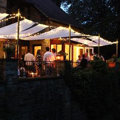 Summer parties and patio lights!!