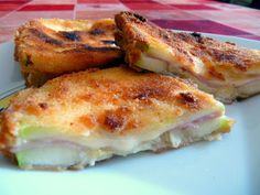 Cocina fácil: San Jacobos de calabacín, jamón y queso