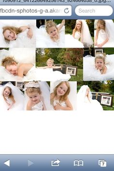 Girl daughter in wedding gown by Jonna Lynn Photography