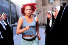 Run Lola Run/Lola Rennt - iconic German film by Tom Tykwer, starring Franka Potente and Moritz Bleibtreu.