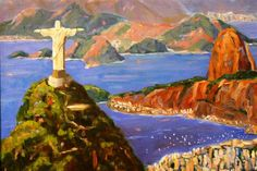 Christ the Statue on Corcovado Hill