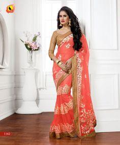 Designer Pakistani Sari Wedding Indian Ethnic Bollywood Saree Traditional Party…