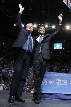 Al Gore and Barack Obama...