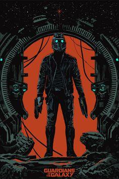 Mondo - Guardians of the Galaxy Print - Star-Lord - Francesco Francavilla