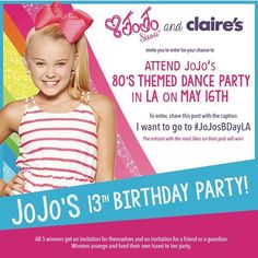 Jojo Siwa Party Invitation Digital File Only Jojo Siwa
