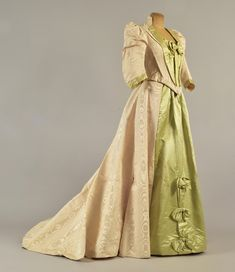 Dress ca. 1892 From Whitaker Auctions