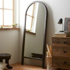 Oversized Arch Mirror | west elm