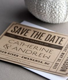 I like all the different fonts used in 2 invitation. AND it looks like a ticket! Something similar for a bday invitation would be cute!