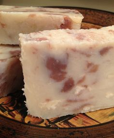 Vegetarian Double Butter Soap by FairAndNaturalSoaps on Etsy, $3.00