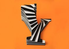 Space typography by Jerome Corgier, via Behance